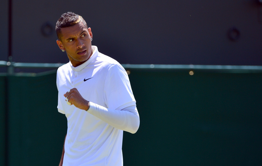 Showman Kyrgios shaking up tennis in more ways than one