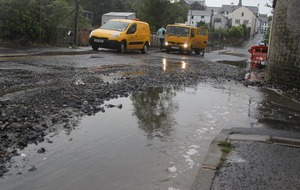 Seaside town hit by severe flooding