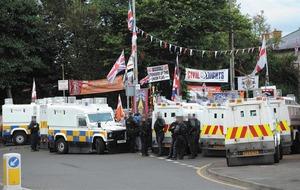 Focus on Orange Order's north Belfast parade following failure of 'graduated response'