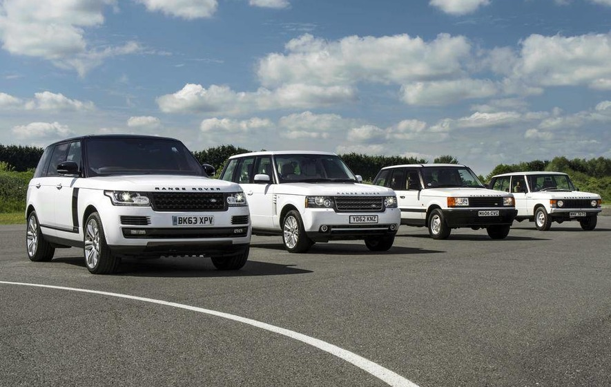 No semantics about Range Rover's iconic status