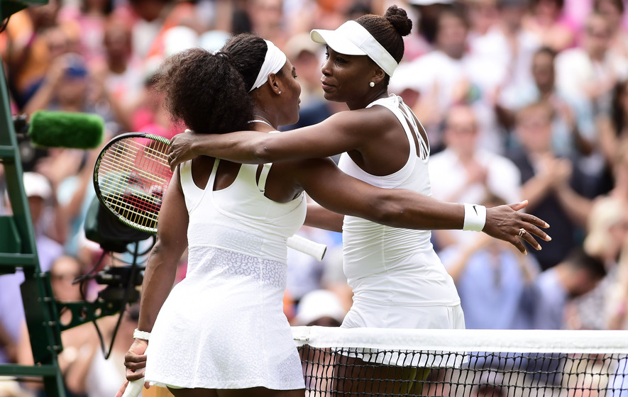 Venus hails sister Serena as the 'ultimate champion' after loss