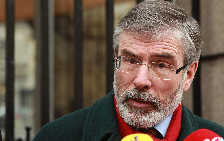Ombudsman backs PSNI's Gerry Adams investigation