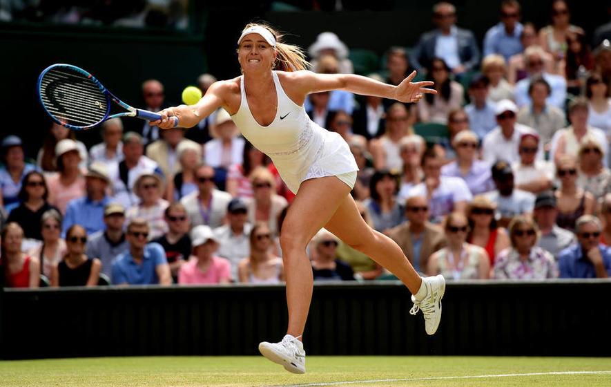 Maria Sharapova hails Coco Vandeweghe's Wimbledon run