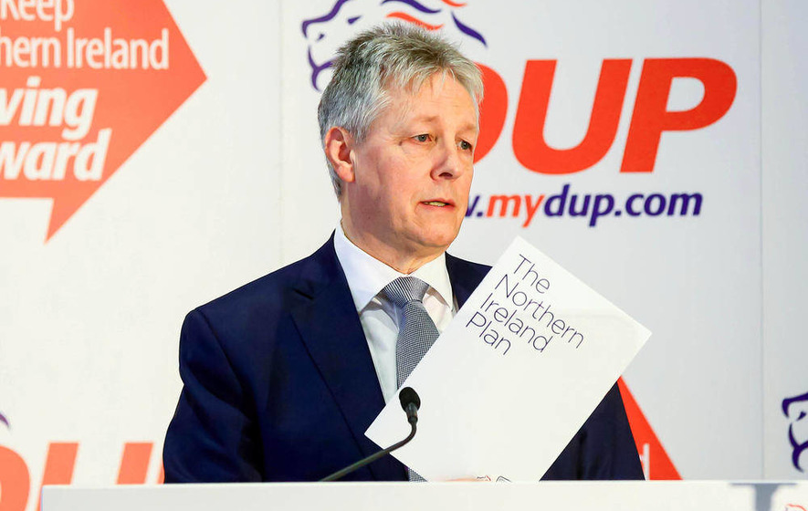 Peter Robinson could face Stormont Nama probe