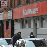 Man arrested over attempted robbery at bookmakers