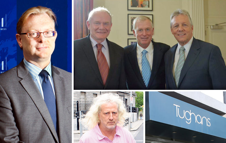 McGuinness kept in dark over Robinson's Quayle meeting