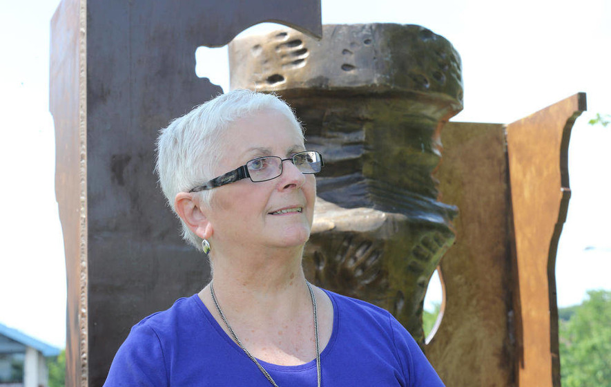 Belfast woman retires after 32 years of interface work