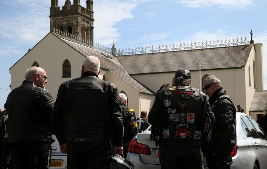 Motorcycling's 'guardian angel' medic is laid to rest