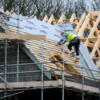 Official figures show steep fall in new house building