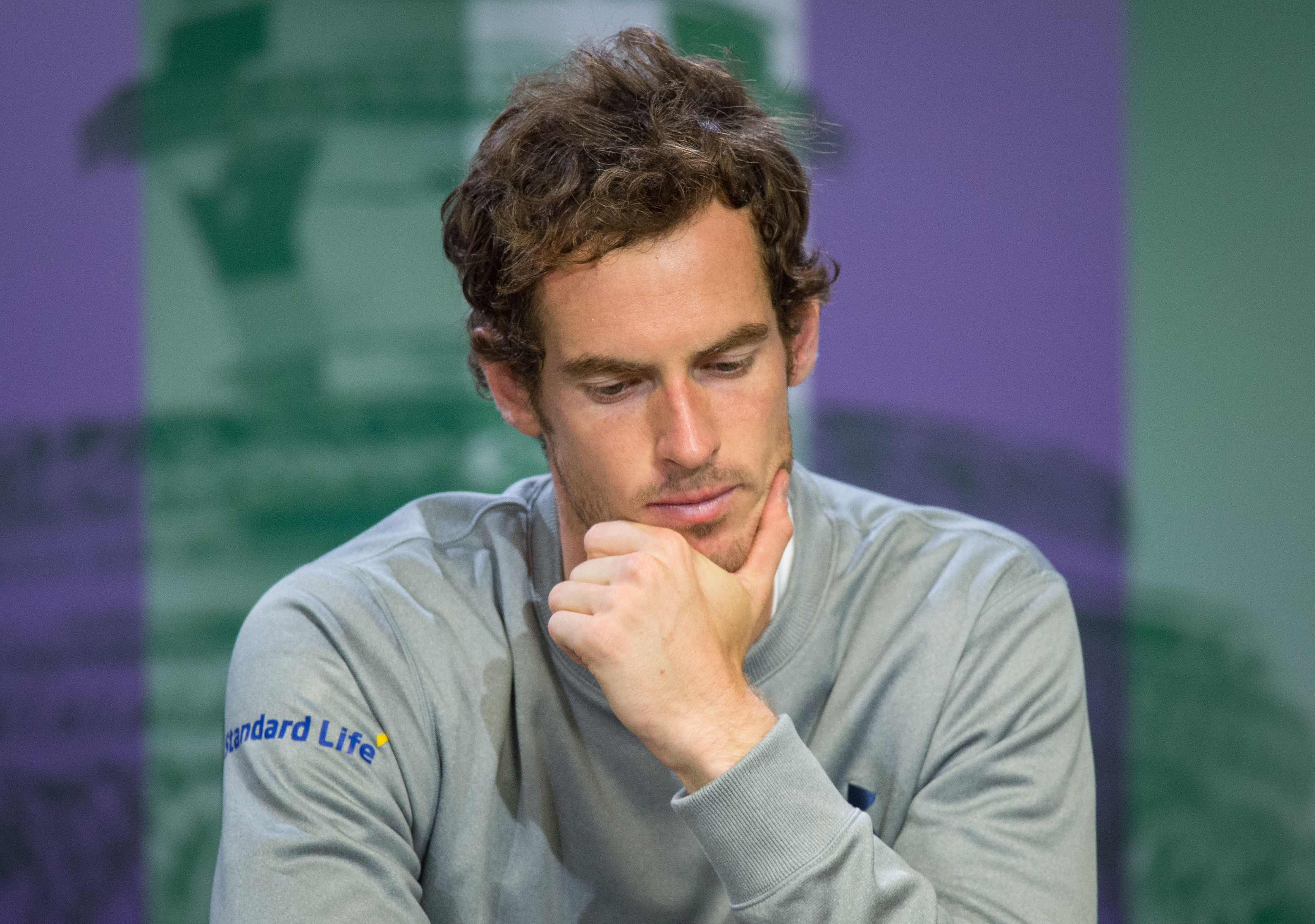 Federer Not Happy With Murray Bbd De F Bf Ffeabdd