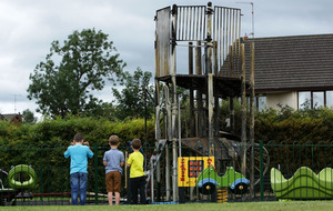 Fire causes extensive damage to Crossgar play park