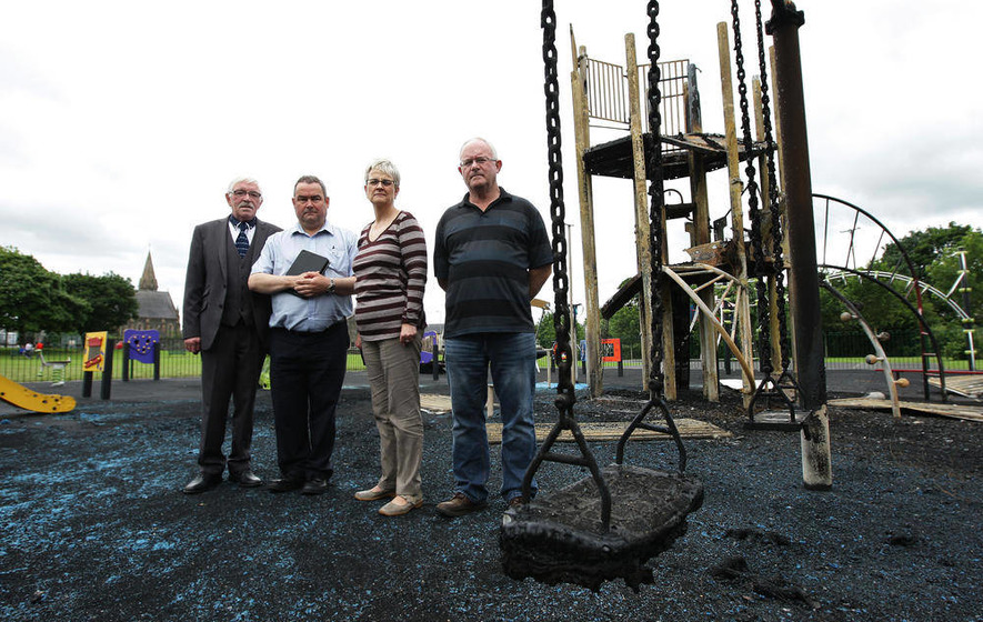 Arsonists destroy refurbished play park