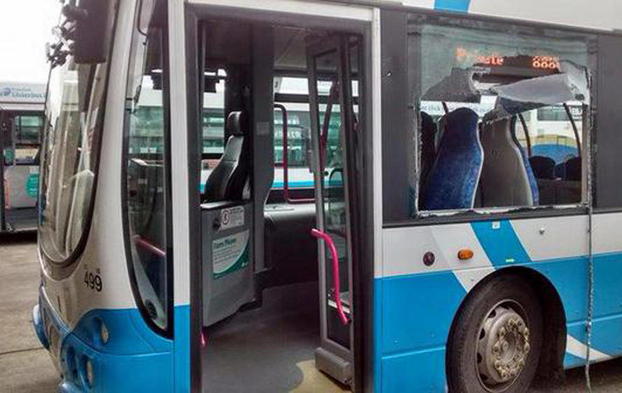 Police review follows Greysteel bus attack