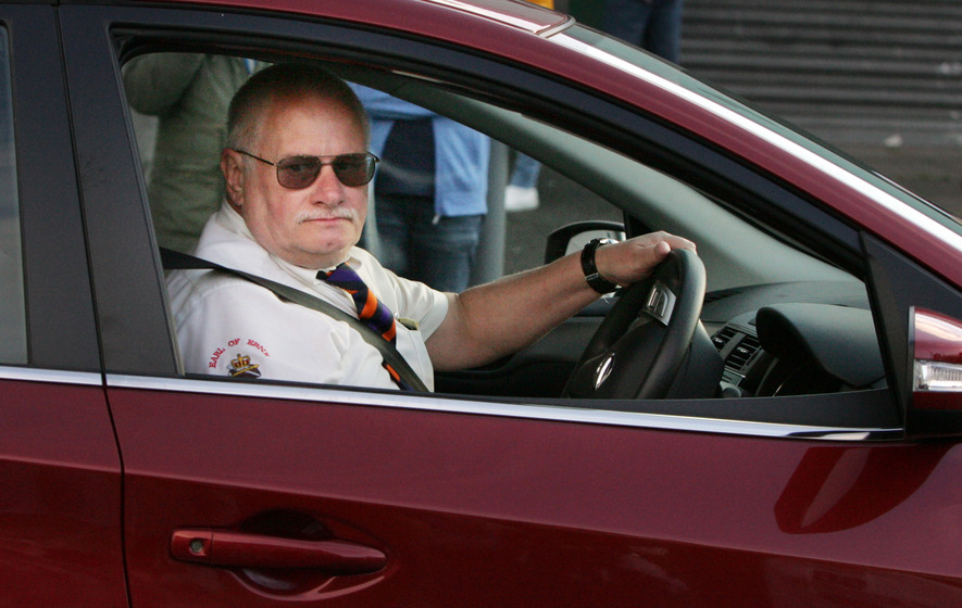 Who is John Aughey, the Ardoyne crash driver?