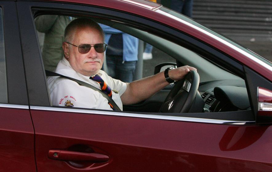 Who is John Aughey, the Ardoyne crash driver?