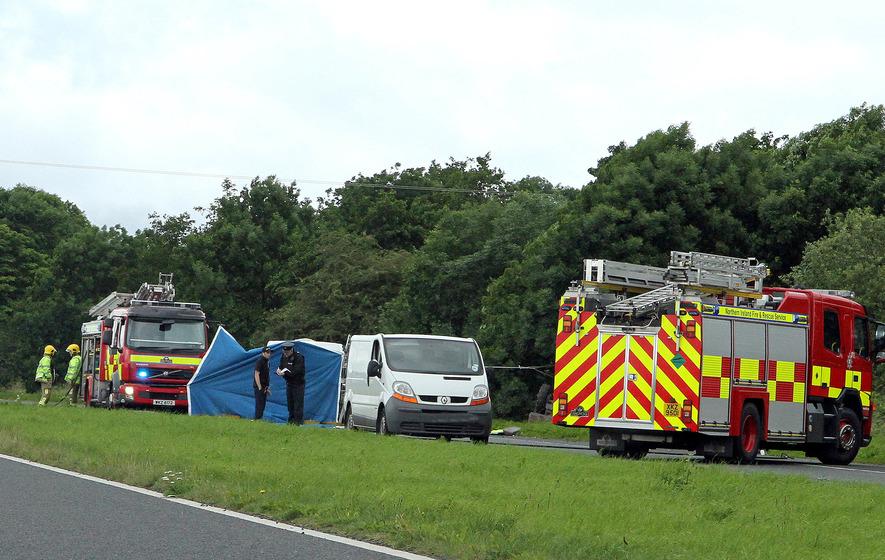 Man dies in Co Tyrone tractor crash