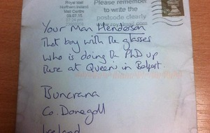 No 'return to sender' for Donegal man's letter