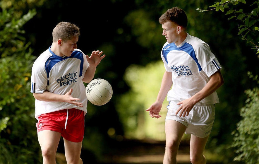 Bradley and McCabe shoot the breeze ahead of Minor clash