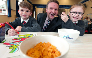 Community fund provides breakfast for school pupils