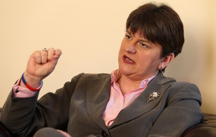Arlene Foster warns of increase to £600m budget 'black hole'
