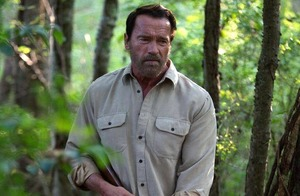 Full-blooded performance from Arnie in zombie horror