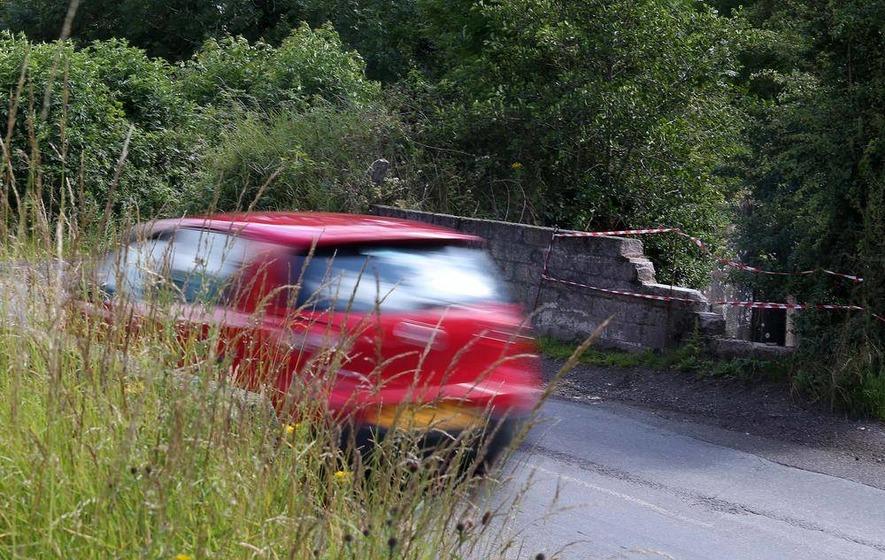'No money' to fix bridge where Mark Durkan's father died