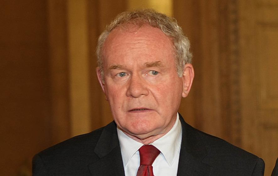 Sinn Fein propping up a failed political experiment
