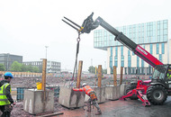 Seagulls force postponement of fence work on UUJ Belfast project