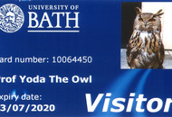 University staff not twits to woo Yoda the owl with a library card