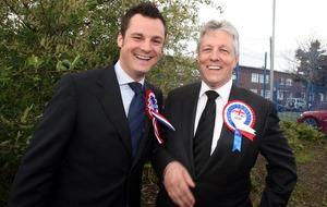 Gareth Robinson was part of social enterprise Stormont delegation