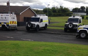British soldiers involved in house searches in Derry