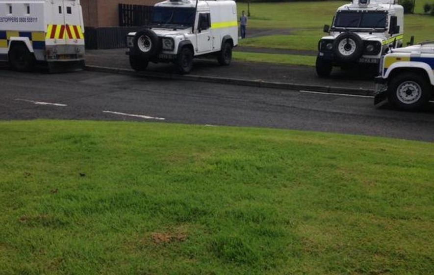 British army not deployed in fresh Derry searches