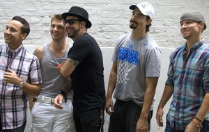 Sleb Safari: Backstreet are back and no it's not all right