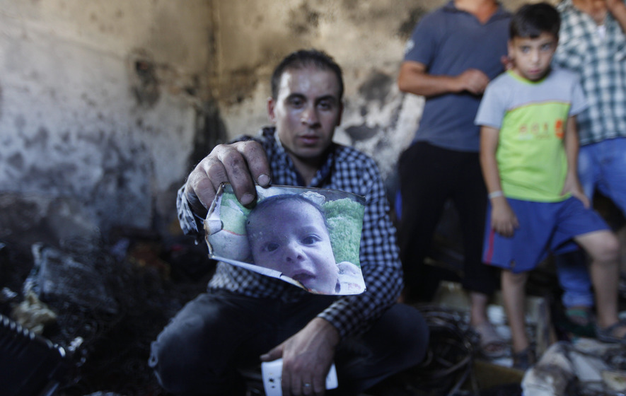 Toddler dies after house fire-bombed in West Bank