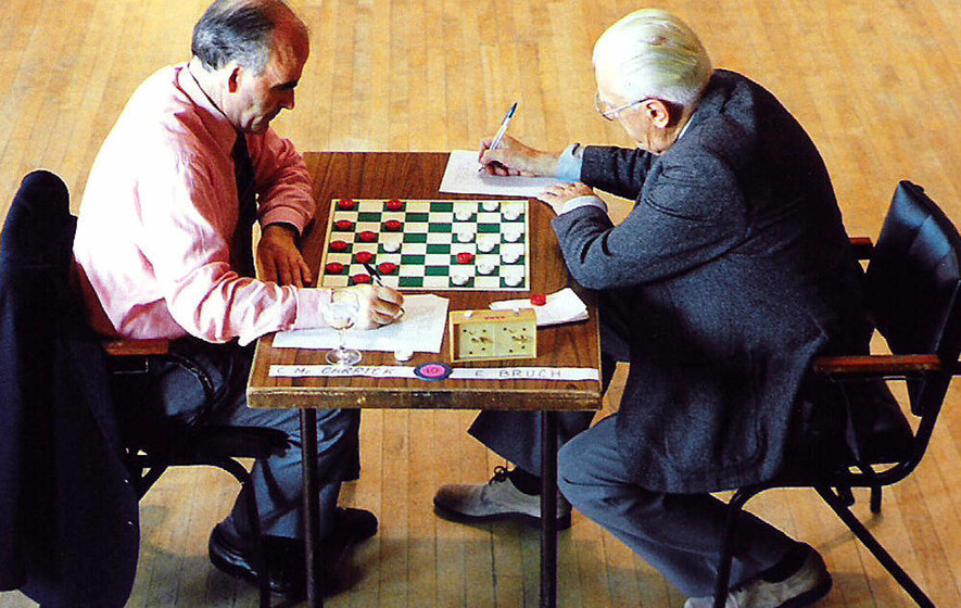 Draughts champion who promoted game around the world