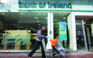 Bailed-out Bank of Ireland profits double in first half