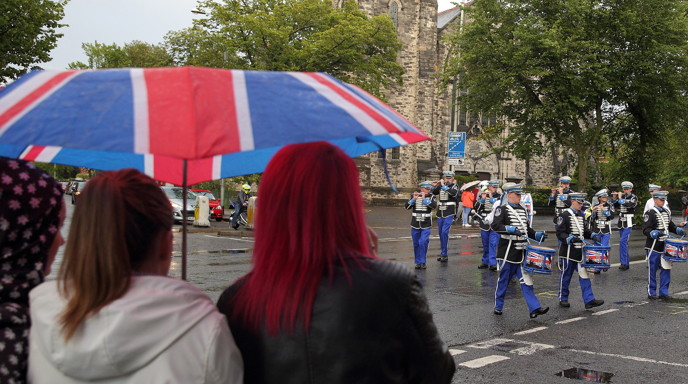 Low turnout for parade to honour UDA killers