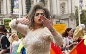 Thousands come out for 25th Pride event
