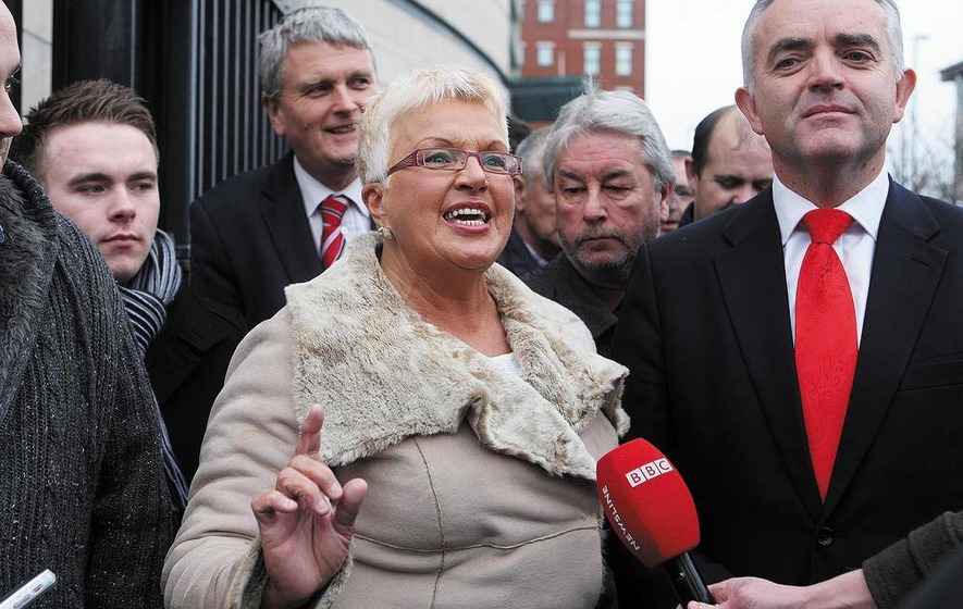 DUP silent on councillor Ruth Patterson attending UDA parade