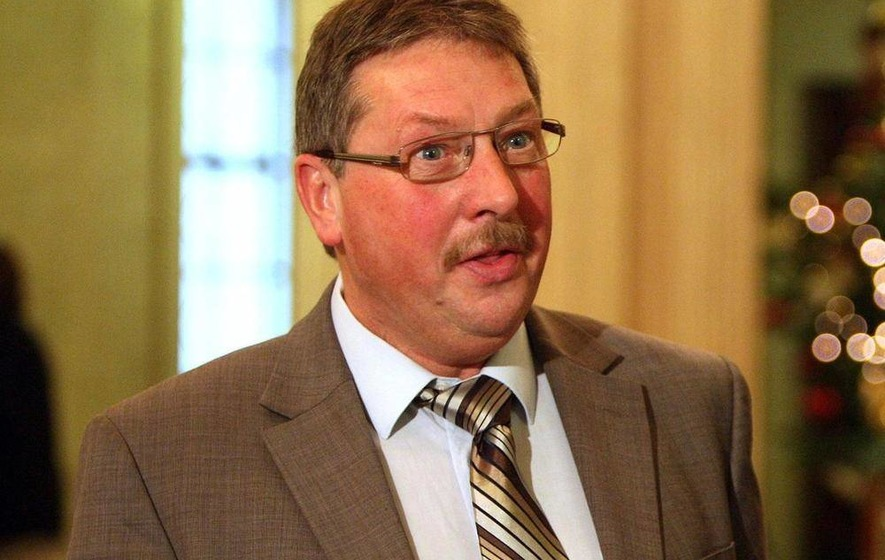 The DUP's Sammy Wilson stands down as an MLA
