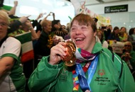 Special Olympics team welcomed back on Irish soil