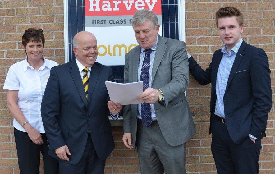 Harvey Group and Solmatix unite to create new energy force