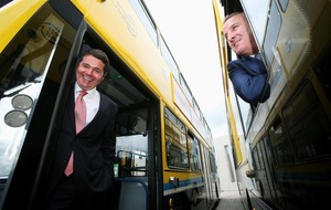 Ballymena-built super-buses take to the roads in Dublin