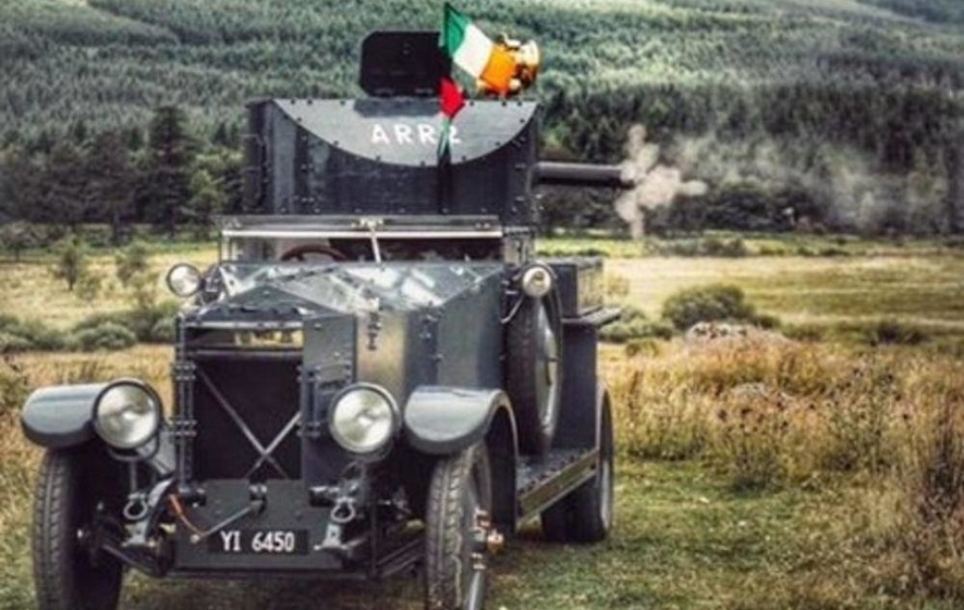 Armoured car linked to Collins ambush to go on display