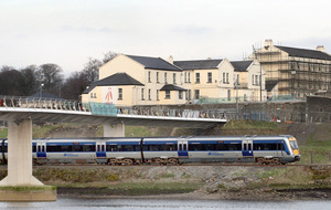 Loyalist bandsmen chanted sectarian songs on train