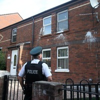 Nationalist homes targeted by paint bombers