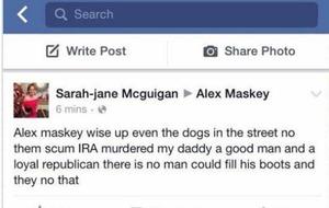 Daughter blames IRA for Short Strand murder