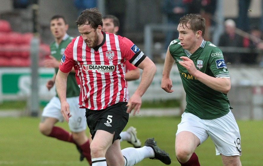 Hutton: Derry City aiming to move up Airtricity table