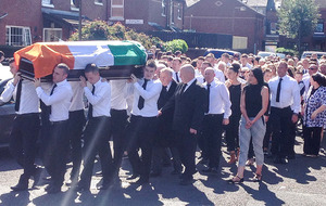 Kevin McGuigan funeral told 'revenge does not solve problems'