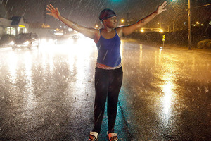 Man shot by police at Ferguson anniversary protest